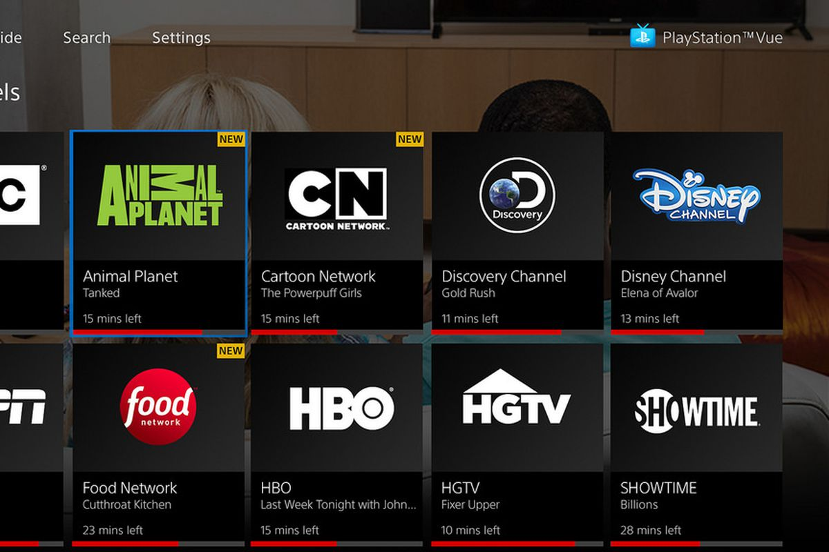PlayStation Vue Now Allows You See 4 Channels On Apple TV At Once